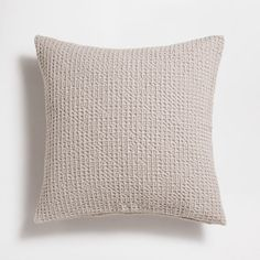 Image of the product Tan mesh cotton cushion cover