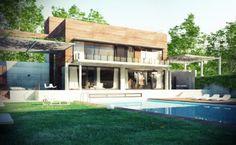 Promoción inmobiliaria | VIVIENDA UNIFAMILIAR | En GAYARRE infografia, ayudamos a las promotoras inmobiliarias ha conseguir el éxito en las ventas seduciendo mediante la infografia 3d.