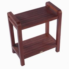 Decoteak Outdoor Teak Ergonomic Bench Storage Shelf or Table & Reviews | Wayfair