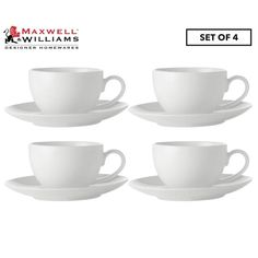 Designed with everyday use in mind, this porcelain set is perfect for your favourite cup of tea or coffee with a clean aesthetic and a high-gloss finish for a timeless appeal.  FEATURES:   * Maxwell & Williams dinnerware  * Style: White Basics Coupe Demi Cup & Saucer Set  * Colour: White  * Pack contents:    * Demi cup (100mL)  * Saucer   * Smooth, high-gloss finish  * Perfect for everyday use  * Materials: Porcelain  * Microwave, oven and dishwasher safe  * Dimensions (approx Beach Table Decorations, Demi Cup, Australia Living, Cup And Saucer Set, Timeless Design, High Gloss, Dinnerware, Tea Cups, Porcelain