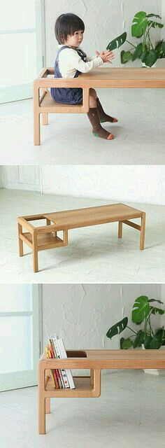Table with children seats or book holder