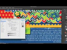 ▶ 5 Minute Digital Scrapbooking Tutorials by Traci Reed - More Realistic Text/Paint/Stamps - YouTube