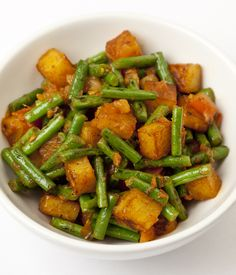 The key to this potato curry recipe is to ensure the potatoes are not overcooked, so it is important to work quickly. - Alfred Prasad