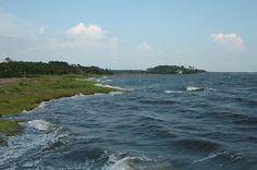 *Roanoke Island-beautiful, and saw the lost colony of Roanoke