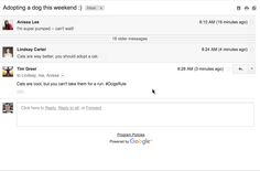 Gmail now lets you 'drop the mic' on any conversation