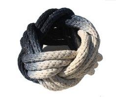 Tanya Aguiñiga rope knot bracelet