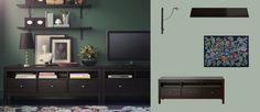 need to downsize my current entertainment center...two of the ikea units would do.