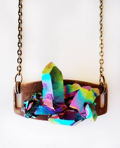 MARIAH rainbow stone necklace