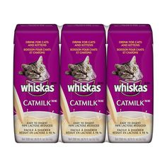 WHISKAS CATMILK PLUS Drink for Cats and Kittens 6.75 Ounces (Eight 3-Count Boxes) -- Click on the image for additional details. (This is an Amazon affiliate link)
