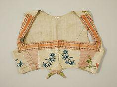 Bodice (sleeveless spencer), silk, ca. Metropolitan Museum of Art, Regency Dress, Regency Era, Antique Clothing, Historical Clothing, Vintage Outfits, Vintage Fashion, Steampunk Fashion, Gothic Fashion, Women's Fashion