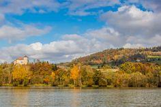 Schloss Neudenstein, Völkermarkter Stausee. River, Outdoor, Outdoors, Outdoor Games, The Great Outdoors, Rivers