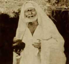 Rare Original picture of Saint Shri Sai Baba from Shirdi near Nashik, in Maharashtra, India