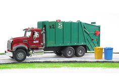 Mack Granite Garbage truck from Bruder Toys Germany