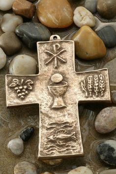 Communion Bronze Cross
