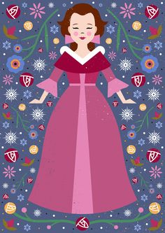 Carly Watts Art & Illustration: Belle