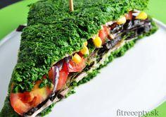 Nízkokalorický špenátový sendvič bez múky - FitRecepty