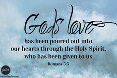 Where are you seeing evidence of God's love and the Holy Spirit in your life?