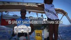For seasoned sailors the answer is obvious. As well for arm chair sailors. But we begin this episode with a pretty lousy day at anchor. I Have A Dream, Sailors, Dream Team, You Can Do, Challenges, Boat, Entertaining, Adventure, Life