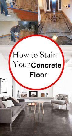 Concrete floor, concrete floor projects, concrete floor revamp, painting a concrete floor, DIY home projects, easy home projects, popular pin, home improvement, easy home improvement.