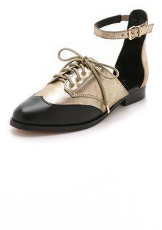 Rebecca Minkoff Maddie Ankle Strap Oxfords