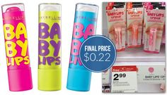 Maybelline Baby Lips Target