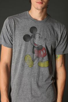 Vintage Mickey Mouse Tee  #UrbanOutfitters  Grant Gustin