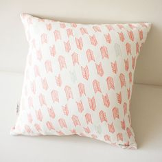 Cushion designer pillow Arrow Tails by mintybaxter on Etsy, $95.00