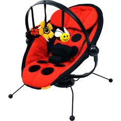 I gotta have this!! Combi - Pod Baby Bouncer, Ladybug