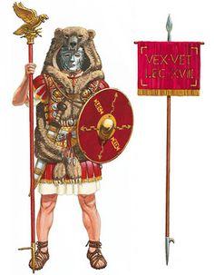Aquilifer XVIIIª Legio