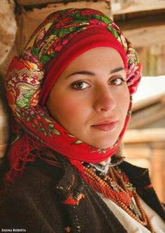 #Ukrainian #Style #Spirit of #Ukraine #Ukrainian head scarves, better known as #khustka , are an important ritual attribute whose value has partly been preserved till now.