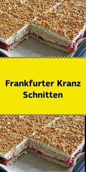 Frankfurter Kranz Schnitten – Appetizer Recipes The recipe is simply bomb … I've baked it several times now … Even first freezing is not a problem after thawing it tastes like freshly baked Ingredients: For the dough: 5 [ … ] Easy Smoothie Recipes, Easy Cake Recipes, Cookie Recipes, Dessert Design, Appetizer Recipes, Snack Recipes, Easy Vanilla Cake Recipe, Coconut Recipes, Pumpkin Spice Cupcakes