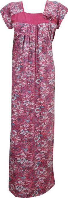 Indiatrendzs Women's Nighty    #nighty #maxi #nightgown #sleepwear #nightwear #summer #womennighty #nightdress #bridal