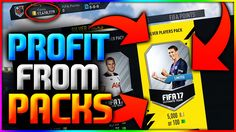 FIFA 17 | MAKE PROFIT OPENING PACKS - FIFA 17 BEST TRADING METHOD (FIFA 17 MAKE COINS OPENING PACKS)