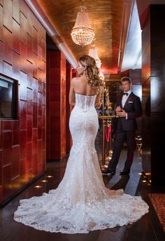 Glamour in wedding is a must! Whether associated with extravagance or modesty, glamour comes from within. Galia Lahav wedding dress describe high end fashion and luxury for all brides to be. Will Cadena Photography