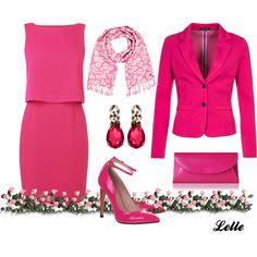 """""""L K Bennett dress"""" by lellelelle on Polyvore"""