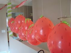 Balloons turned into