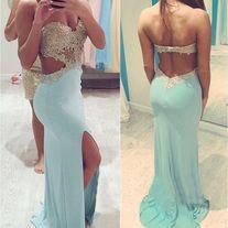 blue prom dress long prom dress backless prom dress prom dress 2016 affordable prom dress party dresses evening dress