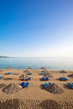 Ammoudara beach, Crete, Greece