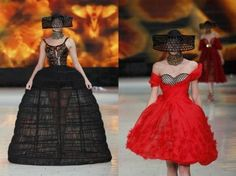 Sarah Burton's Vivid Alexander McQueen Collection Steals Paris Fashion Week's Closing Show [PHOTOS]