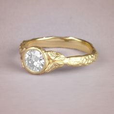 Serafina ring #engagementrings #wedding http://www.roughluxejewelry.com/