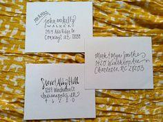 Handwritten Addressed Envelopes by thekatefont on Etsy