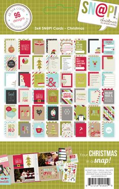 Christmas SN@P! 3x4 Cards | Simple Stories