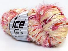 Cocktail Fancy White Pink Cream Burgundy Hand-Tied at Sister Stitches Discount #yarn