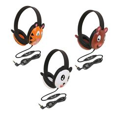 Animal Themed Headphones are child-sized and can be used for many different activities, including testing!