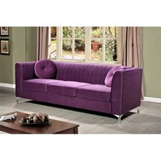 Aadvik Chesterfield Sofa by – ShopWixer Decor, Formal Living Rooms, Rolled Arm Sofa, Chesterfield Sofa, Sofa, Furniture, Sofa Upholstery, Love Seat, Home Decor