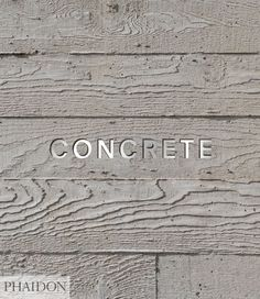 Concrete takes a fresh look at the world's most versatile and abundant building material. Collating fascinating and beautiful concrete buildings by some of the most celebrated architects of the last century, it features familiar projects from Le Corbusier and Frank Lloyd Wright alongside work from some of the leading lights of contemporary architecture including Zaha Hadid, Herzog & de Meuron, and many lesser-known newcomers.