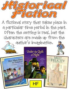 Genre Posters ~ Historical Fiction, Realistic Fiction, Mystery, Fantasy, Science Fiction, Traditional Literature, Informational, Autobiography, Poetry