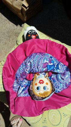 Hey, I found this really awesome Etsy listing at https://www.etsy.com/listing/240765088/vintage-topsy-turvy-mammy-doll-handmade