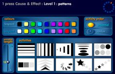 SEN Switcher: 15 accessible activities from NGFL for students with profound and multiple learning difficulties, which can be launched from the website with a keypress. Ranges from the experiential level needing no user input, through 1-5 key presses, popups responding to user presses, to activities for practising targeting and scanning skills. A super set of resources for practising switch, mouse or touch screen skills.