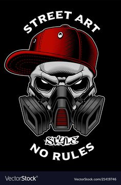 Graffiti skull with gas mask Royalty Free Vector Image , Graffiti Wall Art, Graffiti Wallpaper, Graffiti Lettering, Street Art Graffiti, Gas Mask Art, Masks Art, Gas Mask Drawing, Lotus Artwork, Custom Motorcycle Paint Jobs